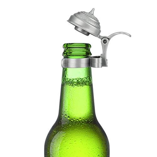 Bierflaschen - Deckel 4er Set für Party und Feiern im Freien (Machen Sie Ihr Eigenes Bier)