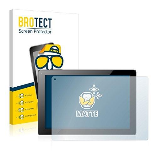 2X BROTECT Matt Bildschirmschutz Schutzfolie für Odys Visio (matt - entspiegelt, Kratzfest, schmutzabweisend)