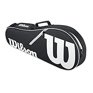 Wilson Schlägertasche Advantage II Triple Racket Bag Tasche Black/White 71 x 22.5 x 29 cm