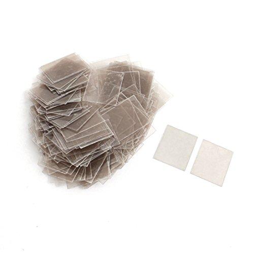 Boîte de 20 mm x 25 mm x 0.12 mm réparer Partie Mica isolant feuilles