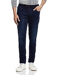 Calvin Klein Mens Tapered Jeans (701549726955_4AFA717_32W x 32L_Blue)