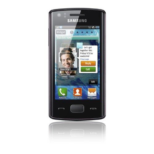 Samsung Mobile Samsung Wave 578 S5780 Smartphone (8,1 cm (3,2 Zoll) Display, Touchscreen, 3,15 Megapixel Kamera) schwarz