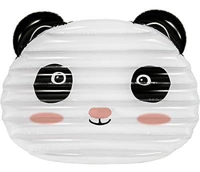 Nouveau matelas gonflable Lilo extra large NPW - Flotteur géant de piscine en forme de panda dormeur par Pop Fix