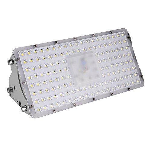 Viugreum- Settima Generazione LED Faro da Esterni Impermeabile 100W 9000 Lumen Luce Super Illuminante Bianco Freddo Modulo Illuminazione LED Faretto da Giardino