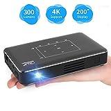 DBSCD Proiettore Portatile, Mini Video Smart Phone Proiettore DLP Android 300...