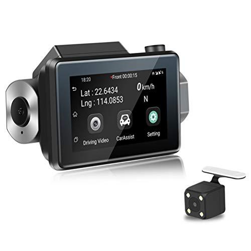 Honey-fruit WiFi Fahren Recorder, 3G Mini-Vollbild-Aufnahmegerät 1080P HD Auto DVR Kamera Schleife Aufnahme Android GPS Navigator - K9 Flash-speicher