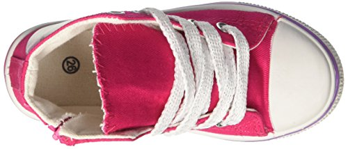 Soy Luna Canvas Hi, baskets montantes fille Rosa (Fuxia)