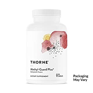 Thorne Research - Methyl-Guard Plus - Methylation Support Supplement with 5-MTHF (Folate) and Vitamins B2, B6, and B12 - 90 Capsules