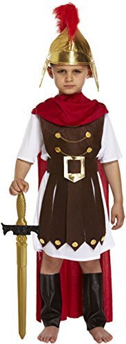 Boys Roman Costume Boys Roman Fancy Dress Roman General Costume 4-12 yrs LARGE 10-12 YEARS by Star55