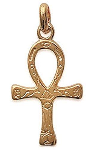 """""""colgante en plaqué-or.» Ancho: 13mm. Altura: 20mm. Material (S): bañado en oro. Tema (S): Adulto, mujer, hombre, atemporal con, Mixto, religión."""