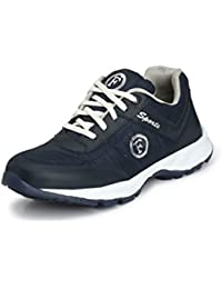 Fucasso Men's Synthetic Blue Sports Shoes