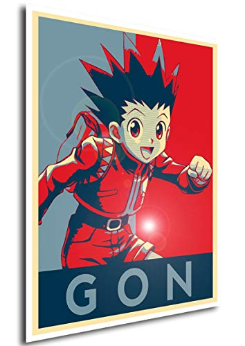 Instabuy Poster Hunter X Hunter Propaganda Gon - A3 (42x30 cm)