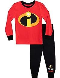 ce8cff2619 Disney Pijamas de Manga Larga para niños The Incredibles Ajuste Ceñido