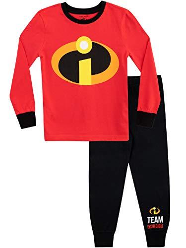 Disney Pijamas de Manga Larga para niños The Incredibles Ajuste Ceñido