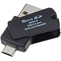 Mix Color 2 in 1 USB-2.0 Micro USB OTG Micro SD Card Reader
