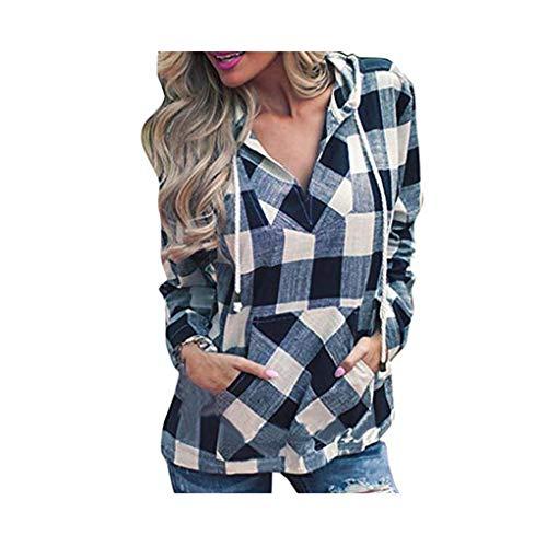 SuperSU Mode Frauen Pullover T-Shirt Hoodie Langarm Bluse Top Oberteile Elegante Retro Hemd...