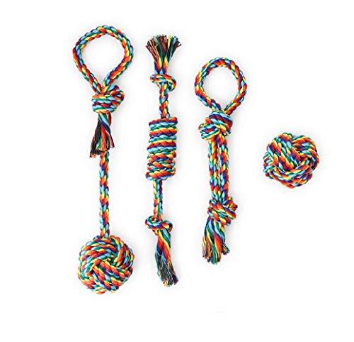 JAUTO 4 Set Premium Hundespielzeug – Hochwertig aus Bau… | 06938719336506
