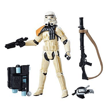 Star Wars The Black Series 3.75 'Sandtrooper Walmart Exclusive figure