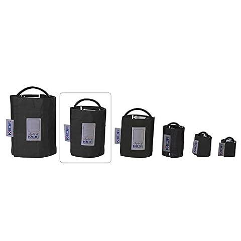 MDF® Adulte Grande Taille-Tube Simple brassard pour pression artérielle sans latex - Noir (MDF2080461-11)
