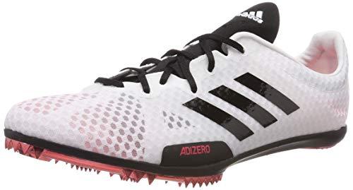 adidas Damen Adizero Ambition 4 W Leichtathletikschuhe, Weiß FTWR White/Core Black/Shock Red, 41 1/3 EU