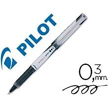 Pilot - Rotulador roller v-ball grip negro 05 mm (12 unidades)