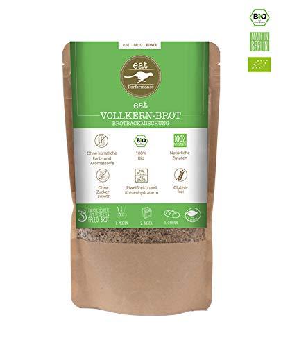 eat Performance® Vollkern Brotbackmischung (250g) - Bio, Paleo, Glutenfreies Brot Aus 100% Natürliche Zutaten