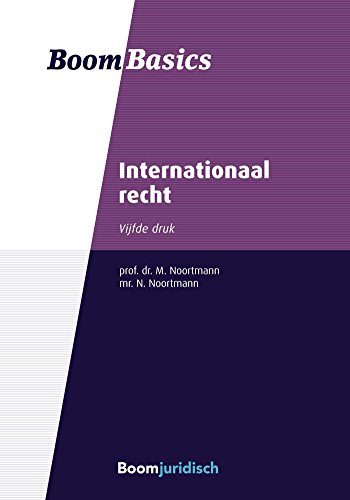 Internationaal recht (Boom Basics) (Dutch Edition) por Math Noortmann