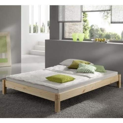 Strictly Beds and Bunks Limited 6ft Studio Bed Wooden Frame, Pine, Super Kingsize