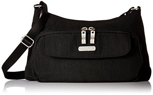 Baggallini Everyday Crossbody Bagg Bag, Black, One Size -