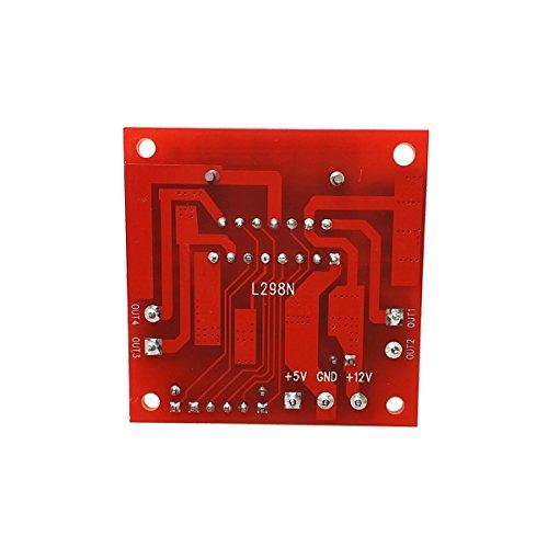 Skyllc® La motorizzazione scheda controller Arduino L298N