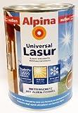Alpina Universal Holzlasur, Kiefer, 2,5 Liter, außen