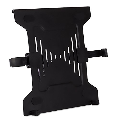 Laptop-computer-stahl Sicher (Mount-It! VESA-Halterung für Laptop, VESA-Halterung, Stahl, für VESA-Monitorhalterungen, belüftet für Kühlung und Klemme für sicheren Halt, bis zu 17 Zoll (17 cm), VESA 75 und VESA 100 kompatibel)