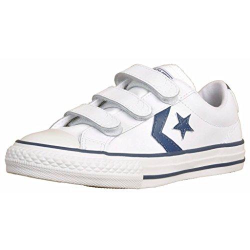 Basket, couleur Blanc , marque CONVERSE, modèle Basket CONVERSE STAR PLAYER Blanc Blanc