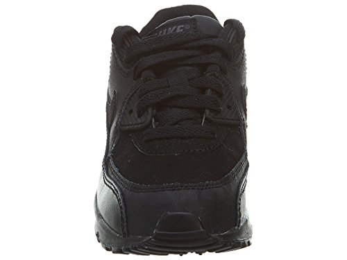 Nike Air Max 90 (Ps), Baskets mode mixte enfant Noir - Noir