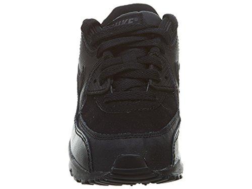 Nike Air Max 90 (Ps), Scarpe da Corsa Bambino Nero / Grigio (Nero / Grigio Scuro)