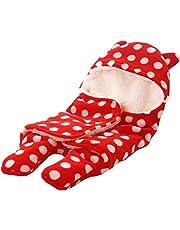 My NewBorn Fleece Soft Wrapper Blanket (Red)