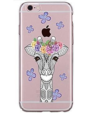 Vanki® iPhone 5/5S/SE Funda, Protectiva Carcasa de Silicona de gel TPU Transparente, Ultra delgada, , Amortigua...