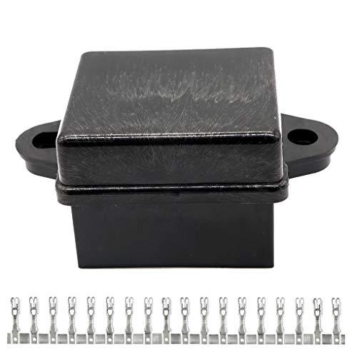 chunyang 10 Way Auto LKW Bus Universal-Fuse Box Block Boot Schiff Sicherungshalter Autozubehör Fuse Block-box