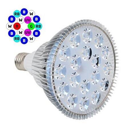 Licht Aquarium Pflanzen (Pflanzenlampe-JLTPH LED wachsen Pflanzen Licht Led Wachstumslampe Pflanzenlicht E27 18W hoch effiziente Aquarium Lampe für Garten Gewächshaus und Hydrokultur Wasserpflanzen)
