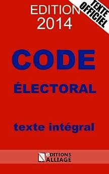 Code électoral 2014 par [Roussel, Jules]