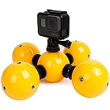 telesin flotante bola impermeable Floaty Bobber para GoPro/Polaroid/Xiaomi yi 4K Cámaras, Gadget bajo el agua accesorios, color Pack of 5 Balls