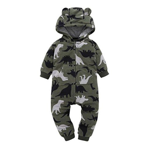 Gaddrt Tarnung Kinder Overall Jumpsuits Baby Jungen Mädchen Lange Ärmel Strampler mit Hosen Kapuze Spielanzug Kleidung Outfits Set (Monster Für Kostüme Kleinkinder Schnee)