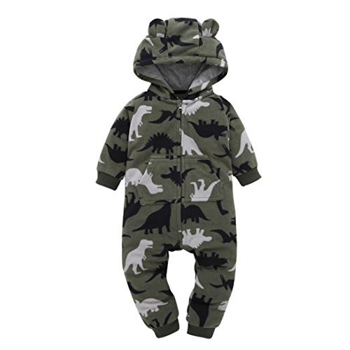 Gaddrt Tarnung Kinder Overall Jumpsuits Baby Jungen Mädchen Lange Ärmel Strampler mit Hosen Kapuze Spielanzug Kleidung Outfits Set (Ideen Baby Kostüme Süßeste Halloween)
