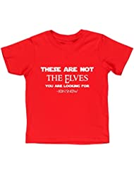 HippoWarehouse These are not the elves you are looking for kids short sleeve t-shirt