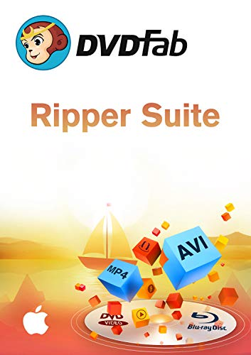 Ripper Suite ( DVD + Blu-Ray Ripper) für MAC (Product Keycard ohne Datenträger) (Dvd-ripper-software)