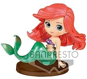 Disney Ariel Figura QPOSKET Blancanieves 7 CM, Multicolor (1)