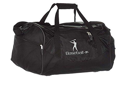 Tasche Team schwarz Baseball