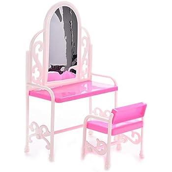 Meuble miniature poup e barbie divan rose fauteuil lampe for Divan 2 lampe