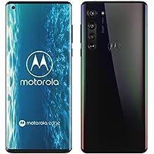"Motorola Edge 5G, 64MP, Display Endless Edge 6.7"" FHD+, Qualcomm Snapdragon Octa-Core SM765, Batteria 4500 mAh, Memoria 6/128 GB, Dual Sim, Android 10, Colore Solar Black"
