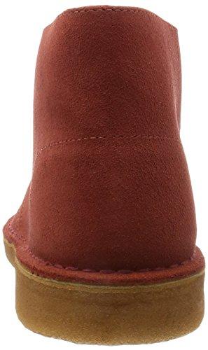 Clarks Originals Desert Boot, Chaussures de ville homme Marron (Rust)